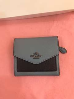 Coach ready Stock women short wallet purse pouch coin bag