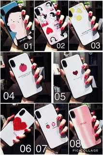 $110@2個手機殻 / 蘋果7Plus的手機殼女款潮牌7P少女心插件網紅同款iphone8plus冷淡風X