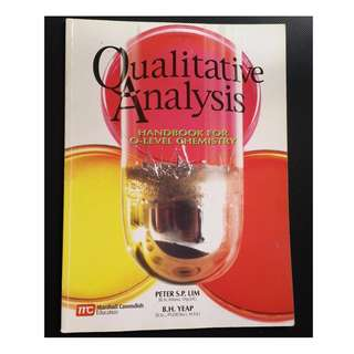 Qualitative Analysis - Handbook for O-Level Chemistry