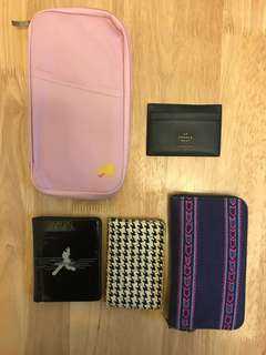card holders. wallet. passport袋 卡套 &銀包