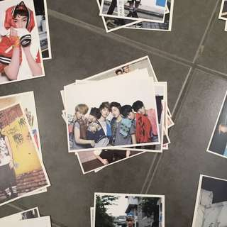 34 Exo postcards from growl repackage album