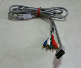 Wii component cable (gold plated)