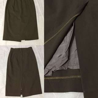 Brown Pencil skirt 🌺