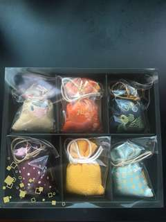 Japanese incense sachets