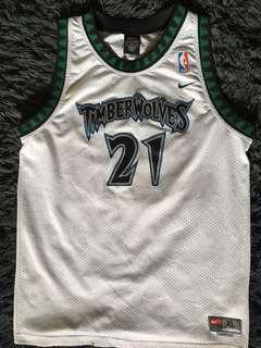 Kevin Garnett NBA jersey (Minnesota Timberwolves)