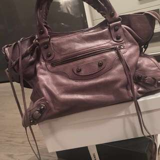 Balenciaga Classic City (small) in purple