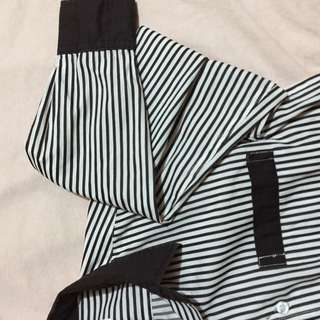 Black and White Striped Longsleeves