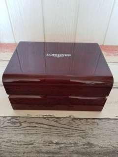 LONGINES 紅木手錶盒