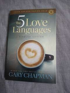 The 5 love Languages by Gary Chapman (Singles Edition)