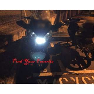 Kawasaki GTR on SUPER bright T10 CREE project lens for pole light - cash & carry