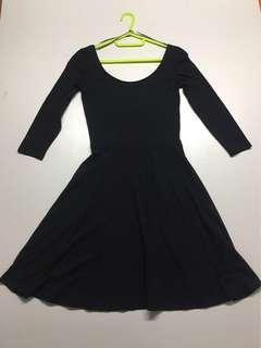 BLACK TERRANOVA long sleeves dress