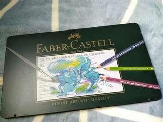 Faber Castell Albrecht Durer 36 Tin Watercolor Pencils