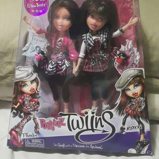 SALE!!! Bratz Twiinz Dolls - Phoebe & Roxxi