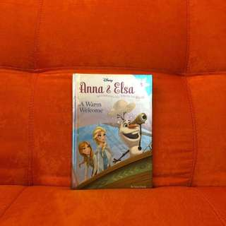Anna & Elsa, A warm welcome by Erica David
