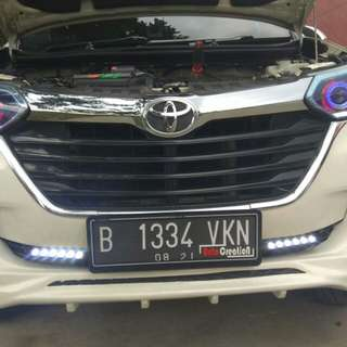 Retrofit headlight projie hid avanza ,jazz dll