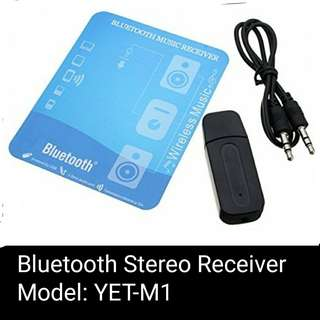 Stereo Bluetooth receiver Yet-M1 streambot USB Wireless Bluetooth Music Audio Adapter Dongle for smartphones, phone, Bluetooth Speaker, car audio system.