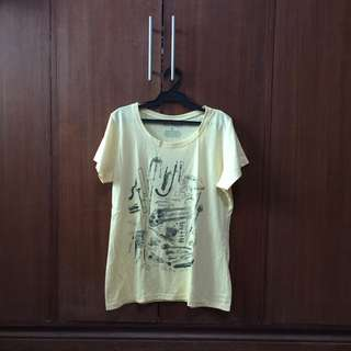 Tee Party Yellow Shirt