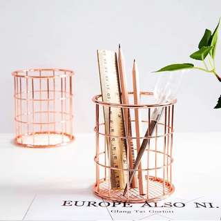 Rose Gold Pen Container [Pre-order]