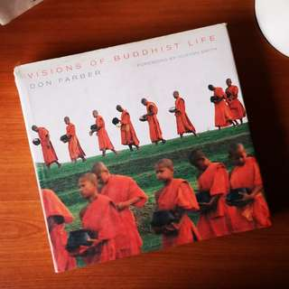 Visions of Buddhist Life by Don Farber (Hard Cover)