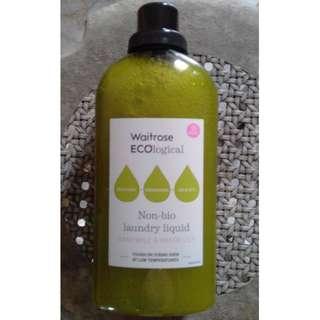 Waitrose ECOlogical Non-Bio laundry liquid Chamomile & Water Lily QYOP
