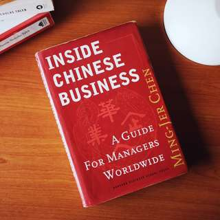 Inside Chinese Business: A Guide for Managers Worldwide Paperback – by Ming-Jer Chen  (Hard Cover)