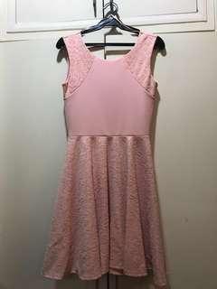 Miss Selfridge Pink Skater Dress
