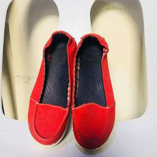 Crocs Red Slip On shoes