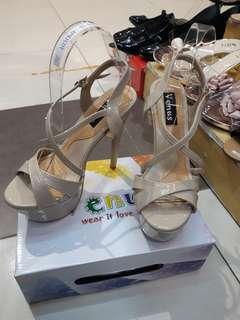High hills sandals