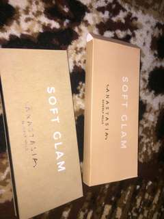 Anastasia Beverly Hills Soft Glam palette ( abh ) (defect 1) FREE ONGKIR SE INDONESIA