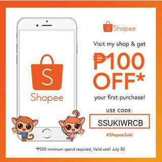 Visit My shop and get 100php off