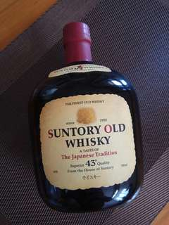 日本 Suntory 三得利 Old Whisky 威士忌
