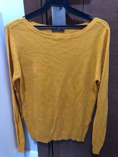 Authentic Terranova Mustard Yellow Knit top