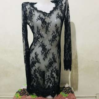 Lace cover ups