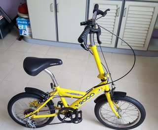 5-speed Foldable Bicycle