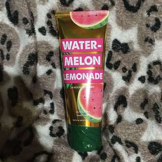 Watermelon lemonade body cream