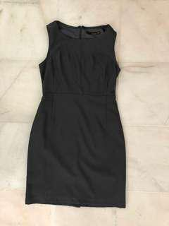Dark grey formal dress