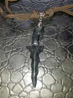 Black Jade crafting Keris pendant. Self collection at hougang ave8 or Punggol Drive under my blk