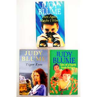 Judy Blume 3 Book Set Teen Collection