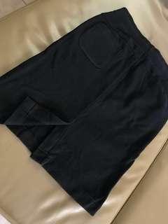 Uniqlo Black Sweat Skirt