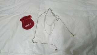 日本品牌 Earth Music and Ecology ~銀色頸鍊 sliver Necklace