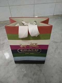 Mini Coach paper bag