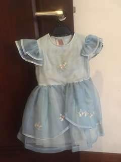 Light Blue Barbie Princess Dress