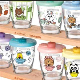 Brand new Hk 7-11 line friends cup