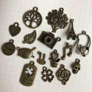 Bronze Charms