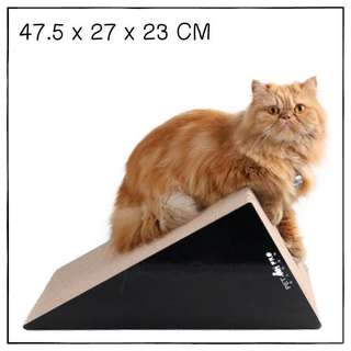"""Triangle"" High Quality Cat Scratching Corrugated Board"
