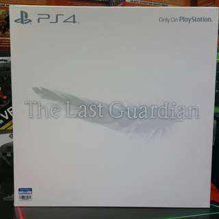 PS4 The Last Guardian Collector's Edition