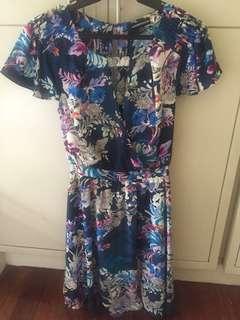 Warehouse knee length dress