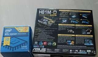 G3258 + H81M-D Plus