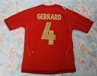 Umbro Steven Gerrard England World Cup 2006 Away Jersey