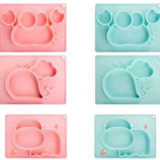 Baby feeding / weaning silicone placemat PO